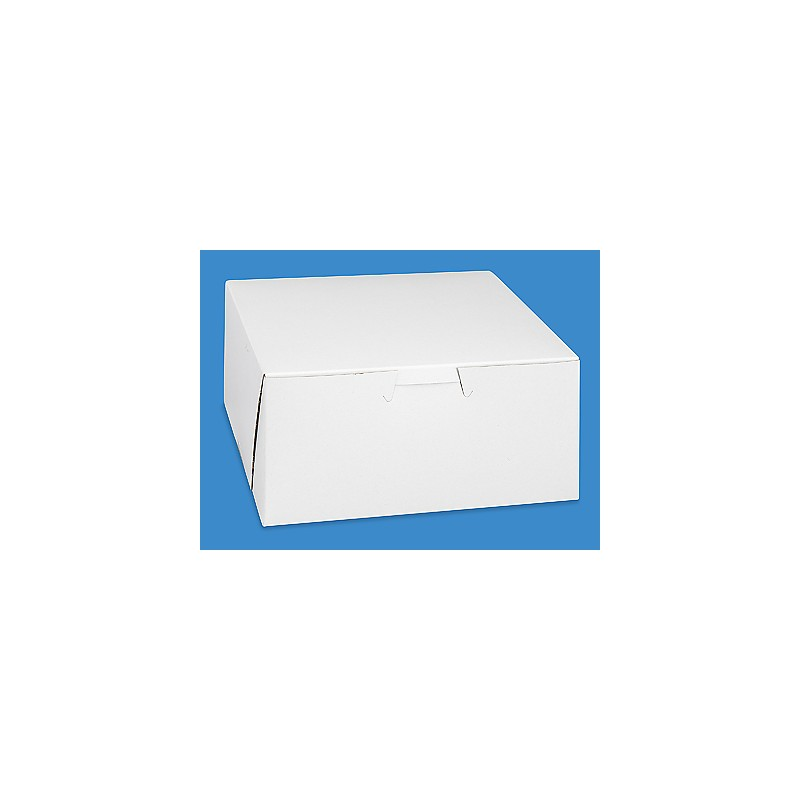 Bakery Box 6x6x4 White If Its Paper