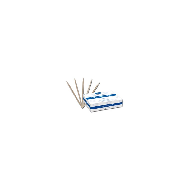 Toothpick - Round - Box of 250
