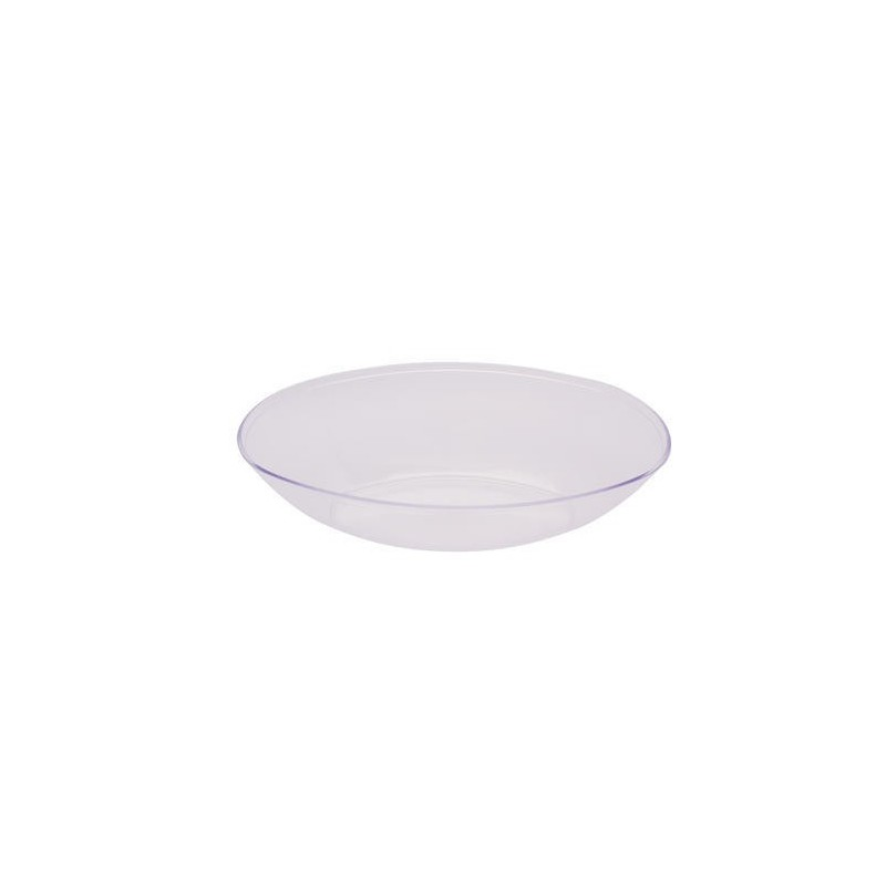 bowl oval large clear plastic if its paper. Black Bedroom Furniture Sets. Home Design Ideas
