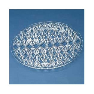 Tray - Crystal Cut - Round - 13 inch