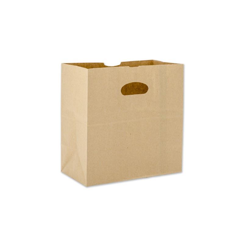 Kraft Bag w/Die Cut Handle