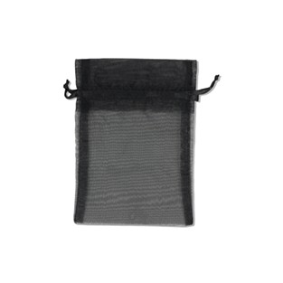 Pouch - Sheer - Black - 5x6 - 10pk