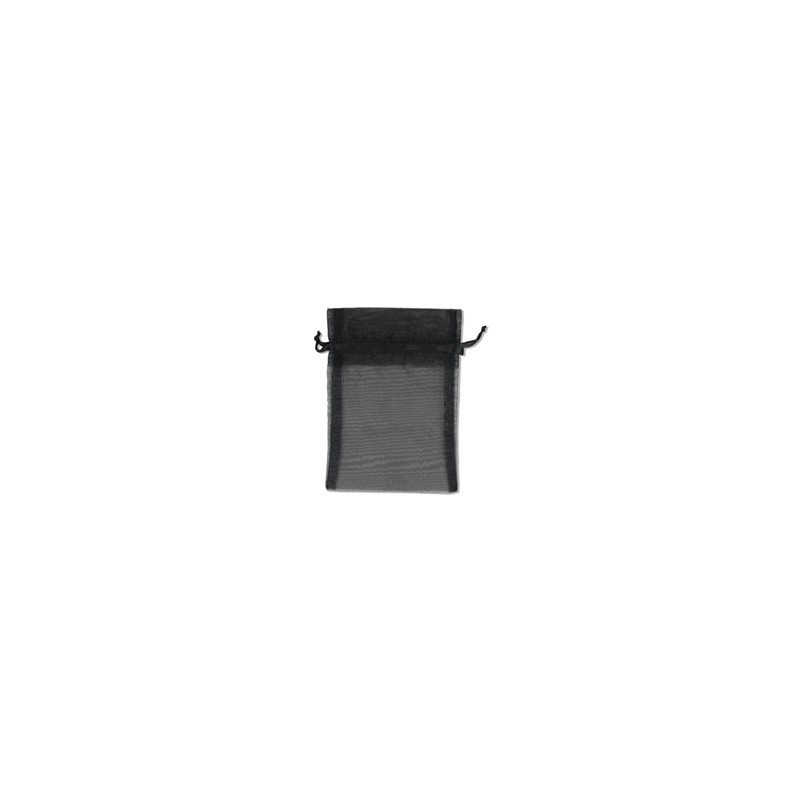 Pouch - Sheer - Black - 5x6 - 10pk