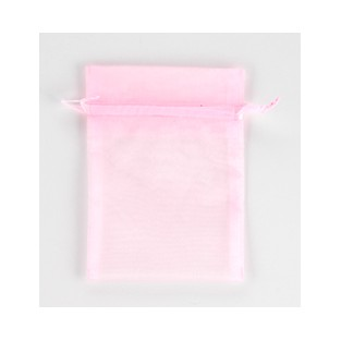 Pouch - Sheer - Pink - 5x6 - 10pk