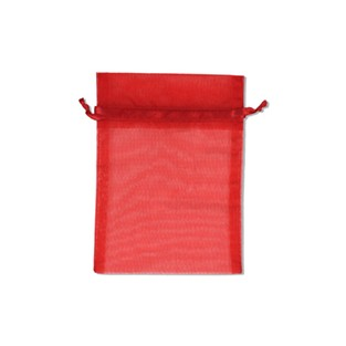 Pouch - Sheer - Red - 5x6 - 10pk