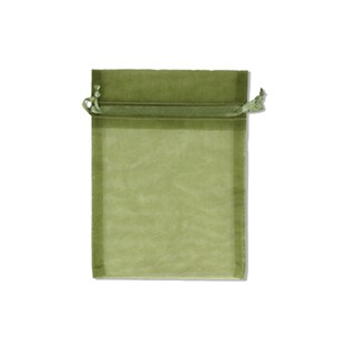 Pouch - Sheer - Olive - 5x6 - 10pk