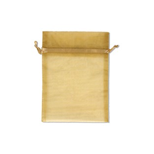 Pouch - Sheer - Gold - 5x6 - 10pk
