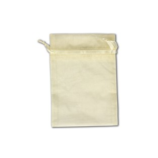 Pouch - Sheer - Ivory - 5x6 -10pk