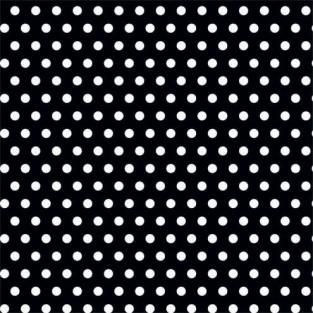 """Giftwrap - Dots - Black - Jumbo - 30""""x16'"""