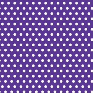 """Giftwrap - Dots - Purple - Jumbo - 30""""x16'"""