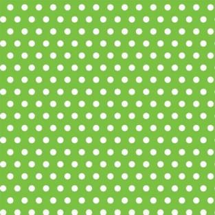 """Giftwrap - Dots - Kiwi - Jumbo - 30""""x16'"""