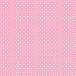 """Giftwrap - Dot - New Pink - Jumbo  - 30""""x16'"""
