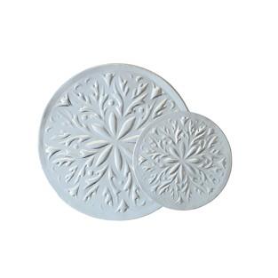 Seals - Silver - 1.25 inch - Round