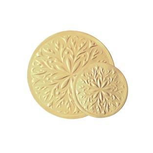 Seals - Gold - 2 inch - Round