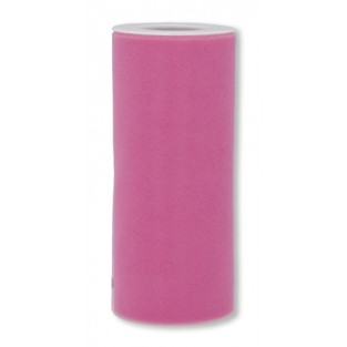 Ribbon - Tulle - 6inx25yd - Hot Pink