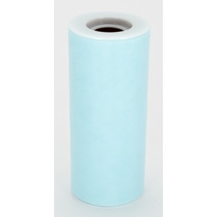 Ribbon - Tulle - 6inx25yd - Aqua