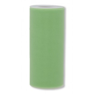Ribbon - Tulle - 6inx25yd - Lime