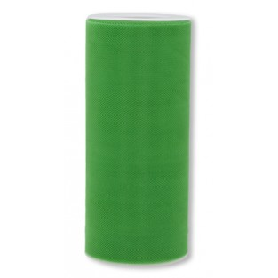 Ribbon - Tulle - 6inx25yd - Kelly Green