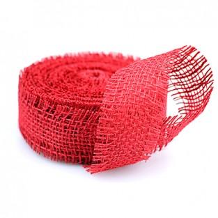 Ribbon Jute - 1.5x10yd - Red
