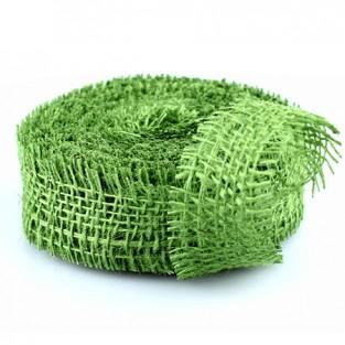 Ribbon Jute - 1.5x10yd - Jungle Green