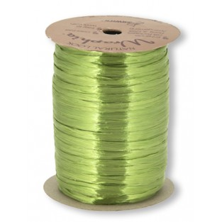 Ribbon - Wraphia - Pearl - 100yd - Jungle Green