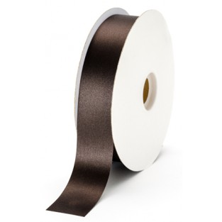Ribbon - Satin - 1 3/8in - Chocolate