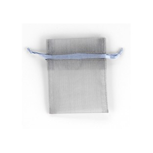 """Sheer Pouch - Silver - 3x4"""""""