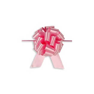 Pull Bow - 4in - Pink