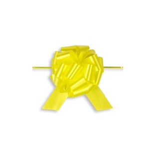 Pull Bow - 4in - Yellow