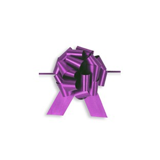 Pull Bow - 4in - Purple