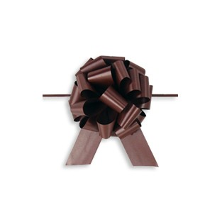 Pull Bow - 4in - Chocolate