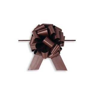 Pull Bow - 5.5in - Chocolate
