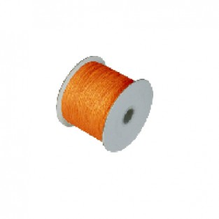 Ribbon - Jute - Cord - 100yd - Orange