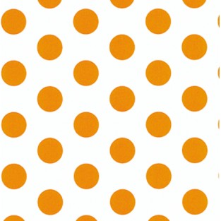 Tissue - 20x30 - 10pk - Orange Polka Dots