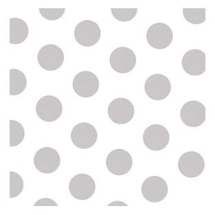 Tissue - 20x30 - 10pk - Silver Polka Dots