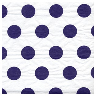Tissue - 20x30 - 10pk - Grape Polka Dots