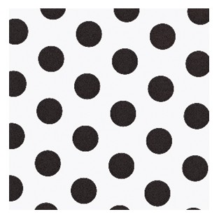 Tissue - 20x30 - 10pk - Black Polka Dots