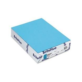 Britehue, 65lb Cover, 8.5x11, Blue