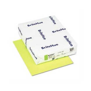 Britehue, 65lb Cover, 8.5x11, Lime