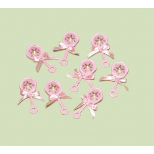 Baby Rattle - Pink
