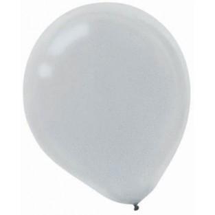 Balloon-Silver - 15pk
