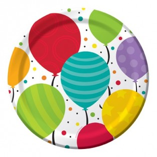 Plate - Lunch - Shimmer Balloons