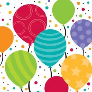 Napkin - Lunch - Shimmer Balloons