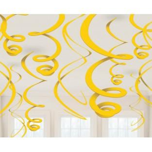 Deco Swirl - Yellow