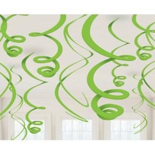 Deco Swirl - Green