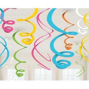 Deco Swirl - Multi Colored