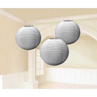 Lantern - 3pk - Silver