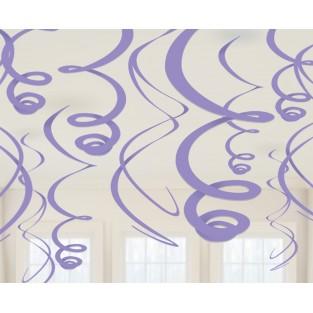 Deco Swirl - Purple