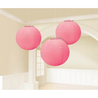 Lantern - 3pk - New Pink