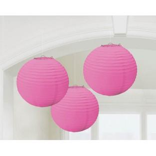 Lantern-Bright Pink-3 pack